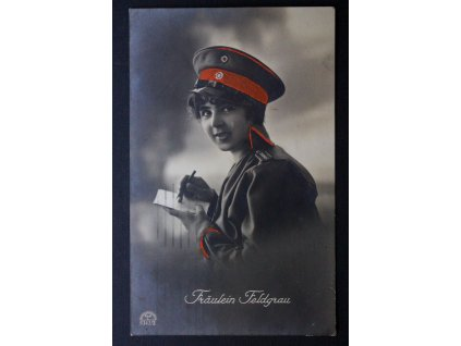 Pohlednice dopisnice Fräulein Feldgrau 1915 P160 (2)