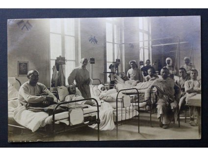 Pohlednice Vojenská nemocnice Feldpostkarte 1916 P180 (1)