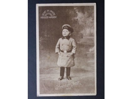 Stará pohlednice DENKT AN UNSERE P181(3)