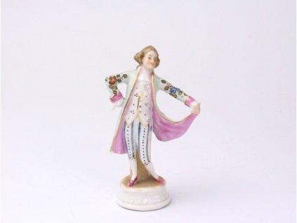 Porcelánová soška šlechtic x1183 (1)