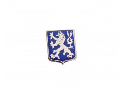 Odznak Český lev pavéza modré pole N107 (2)