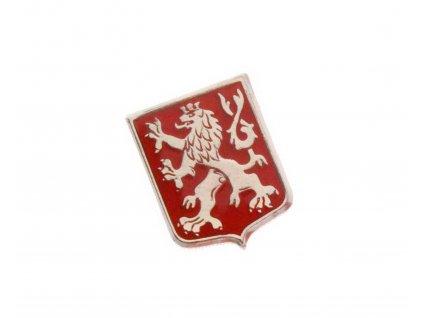 Odznak Český lev pavéza červené pole N108 (3)