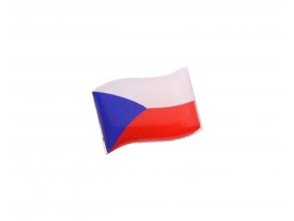 Odznáček vlající vlajka ČR N113 (1)