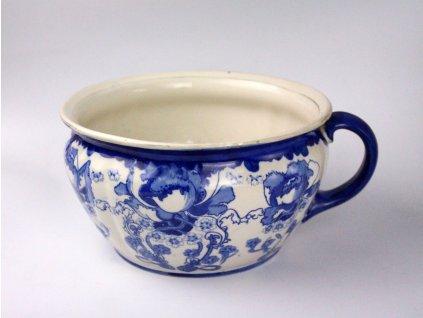 starožitný porcelánový nočník secesní modrotisk x1217 (9)