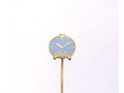 Odznak Budík světle modrý PRIM x1252 (1)