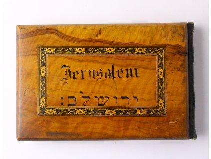 Starý židovský herbář Jerusalem BLUMEN DES MEIL. LANDES x1294 (8)