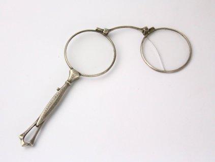Starožitný stříbrný lorňon x1315(5)