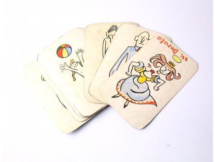 Karty SV. DOROTA ručně malované x1386 (3)