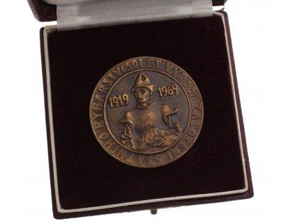 Medaile 50. výročí založení státního rybářství (2)