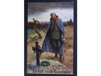 Pohlednice Polní pošta Deutsche Gemälde No. 928 P280