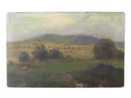 Obraz Háša Jaroslav Olej na plechu x1699 (5)