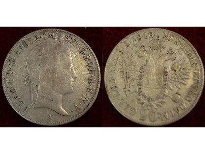 M83 20 kr 1848 a