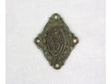 Starožitný štítek na zámek Y116 (1)