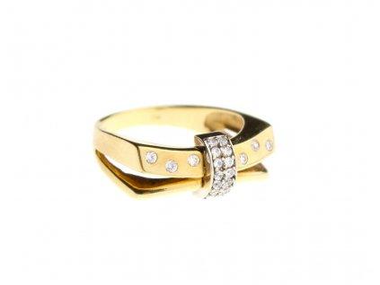 Zlatý prsten s kameny v61 x1782 (3)