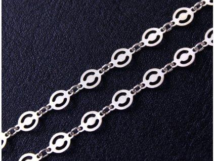 stříbrný řetízek J121