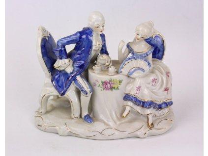 Porcelánové sousoší y160 (2)