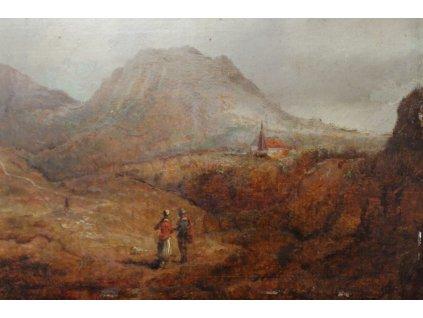 Obraz krajinka Veris (Zamazal) Jaroslav (1900 1983) (3)