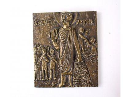 Plaketa SNACT PETER SVATÝ PETER x1895 (2)