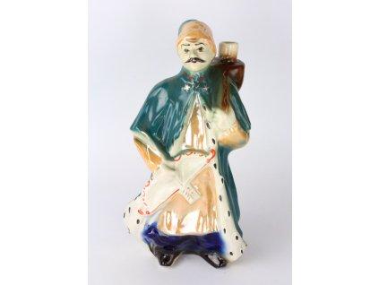 Porcelánová soška lučisník lahev x1898 (2)