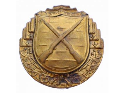 Československý bronzový odznak pro střelce z pušky x1919 (2)
