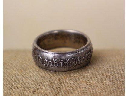 Prsten Dal jsem zlato za železo x1931 (1)