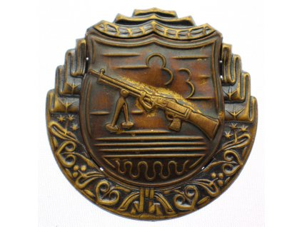 Odznak pro střelce z lehkého kulometu x1940 (2)