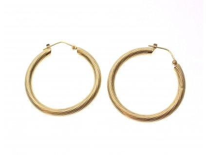 Zlaté kruhové náušníce (1)