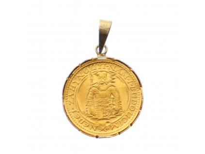 Zlatá mince SVATÝ VÁCLAV 1923 x2007 (2)