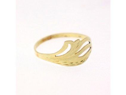 Krasný zlatý prstýnek x2057 (5)