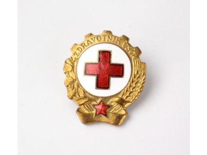 Odznak Zdravotník Čs. červeného kříže y230 12 (2)