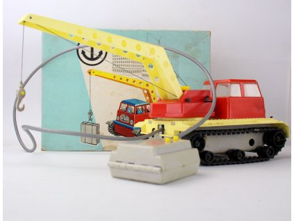 Anker spielzug KRAN pásak s jeřábem hračka y230 17 (2)