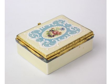 Porcelánová dózička šperkovnice SLAVKOV y229 2(5)