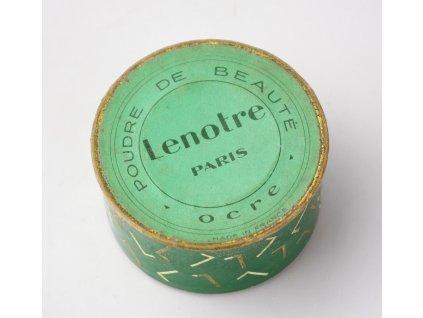 Stará krabička od pudru LENOTRE PARIS OCRE y229 12 (6)