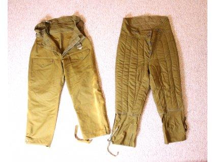 Sovětské vojenské kalhoty pár