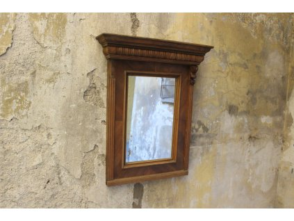 Starožitné dřevené zrcadlo (2)