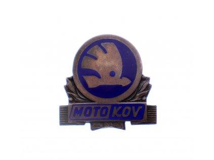 MOTOKOV odznak stříbrný (2)