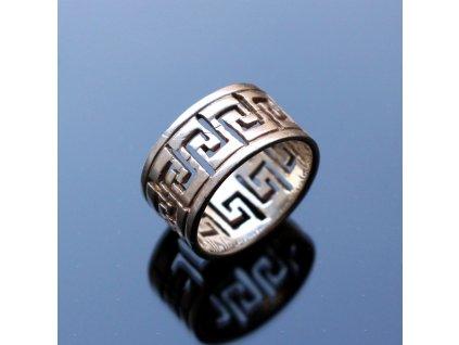 Stříbrný prsten v53