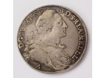Tolar 1772 A, Maxmilián III. Josef, Bavorsko