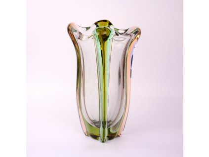Váza hutní sklo (1)
