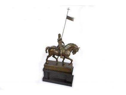 Socha Svatý Václav na koni Franta Anýž (1)