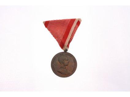 Vyznamenání  Franz Joseph Der Tapferkeit ZA STATEČNOST