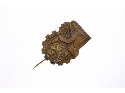 Odznak Za práci 1947
