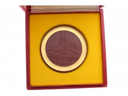 Medaile MEISSEN DDR X.TURNIER POKAL DER BLUEN CHWERTER 1981