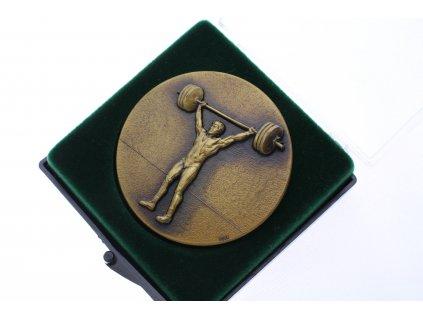 Medaile CLUB HALTEROPHILE DE SAVIGNY 1982