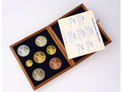 Au mince Slovensko Prvé Slovenské ECU mince Sada 1998 RRR - 30ks