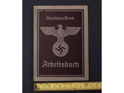Arbeitsbuch - Deutsches Reich - 1940 Chabařovice