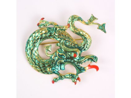 Brož Čínský drak
