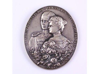 Medaile Württemberg Wilhelm II. 1891-1918