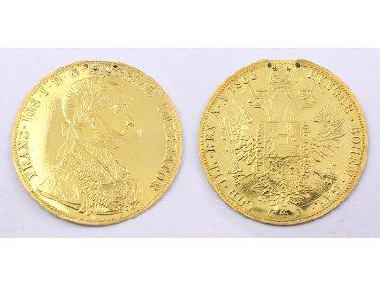 Zlatá mince 4 Dukát Františka Josefa I. 1868 A