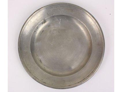 Cínový talíř